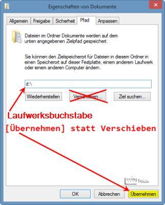 Eigenen Dateien auf separate Partitionen verschieben - so geht es