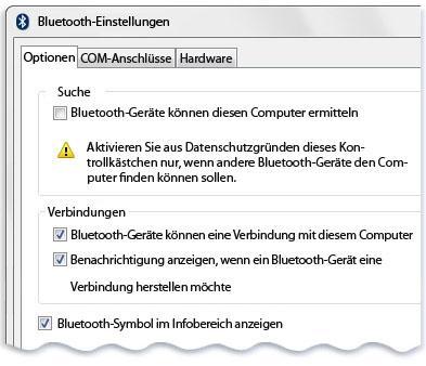 Windows erkennt Bluetooth-Gerät nicht - was tun?