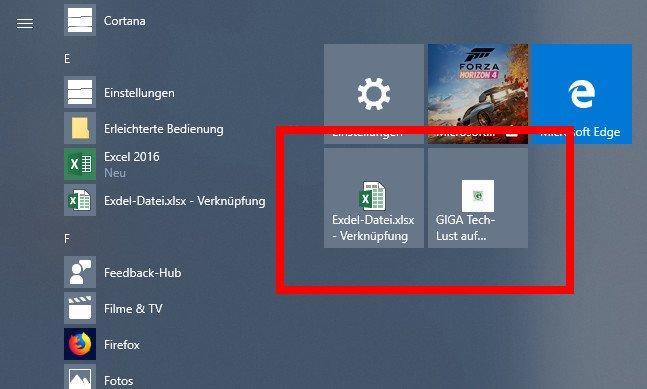 Windows 10 Apps schneller im Startmenü finden