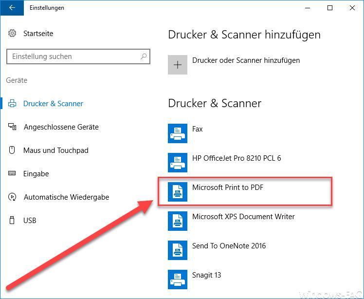 PDF-Dateien ohne weitere Programme erstellen - so gehts