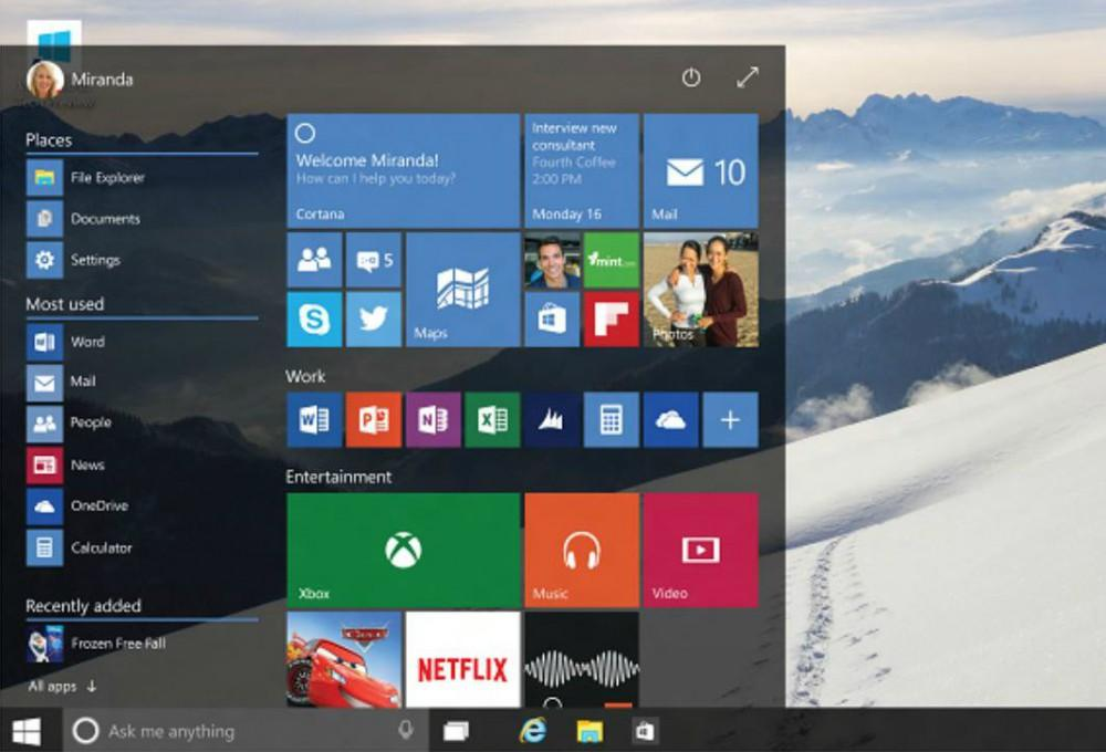 Transparenz im Startmenü unter Windows 10 aktivieren oder deaktivieren