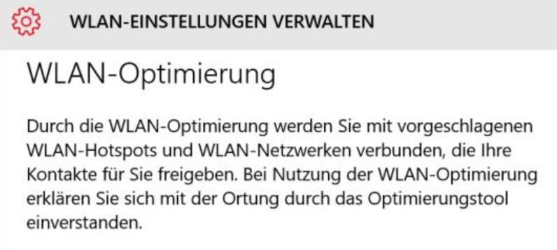 WLAN-Optimierung unter Windows 10 unsicher?