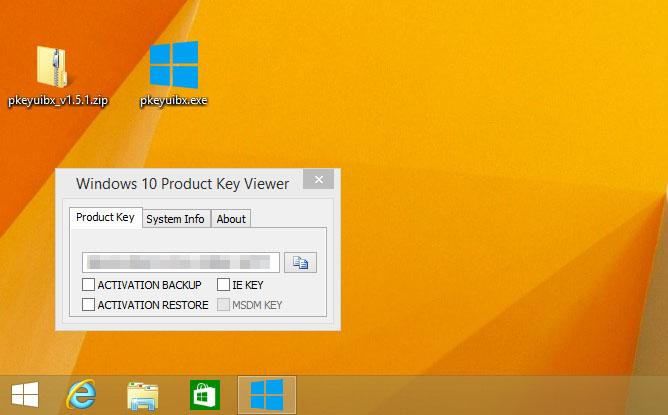 Product Key von Windows 8.1 vor der Installation von Windows 10 auslesen lassen