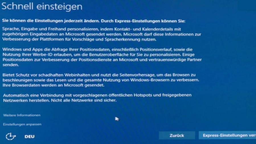 Windows 10: Datenschutz richtig einstellen