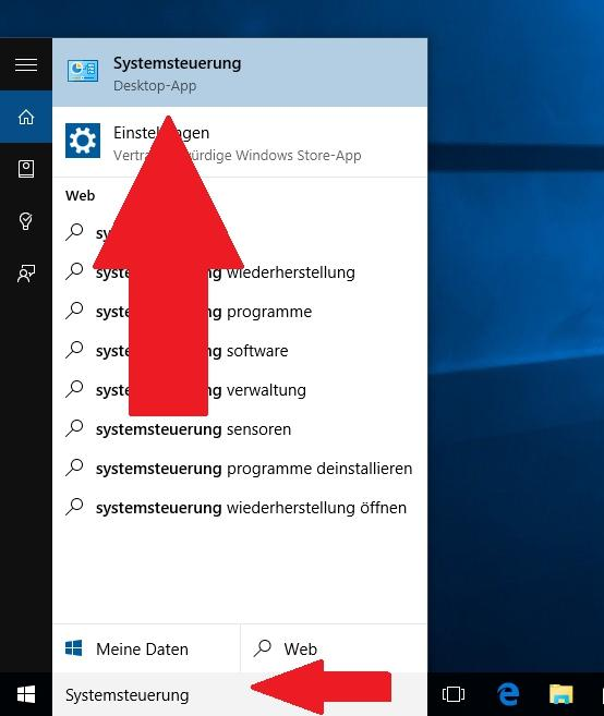 Windows: Öffnen Sie die Systemsteuerung - so funktioniert es