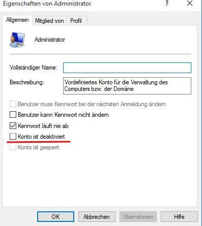 Windows 10: Administratorkonto aktivieren - so gehts