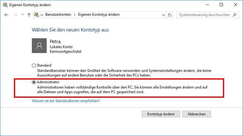 Woran liegt es, dass sich Ihr Windows 10 Computer automatisch abmeldet
