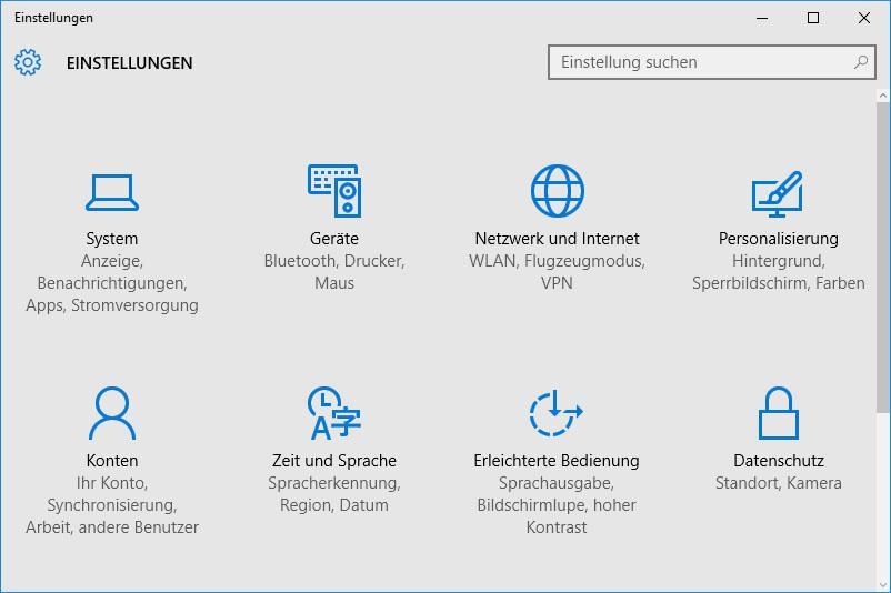 Das Netzwerk unter Windows 10 zurücksetzen