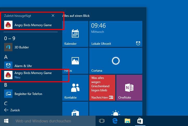So können Sie Apps unter Windows 10 installieren