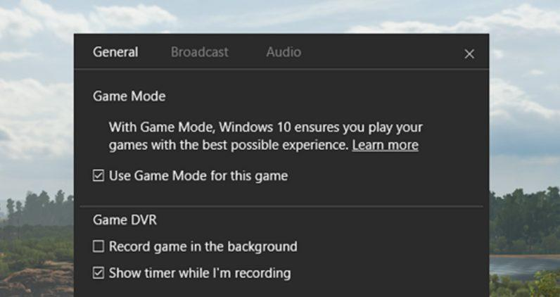 Game Mode von Windows 10 - so funktioniert er