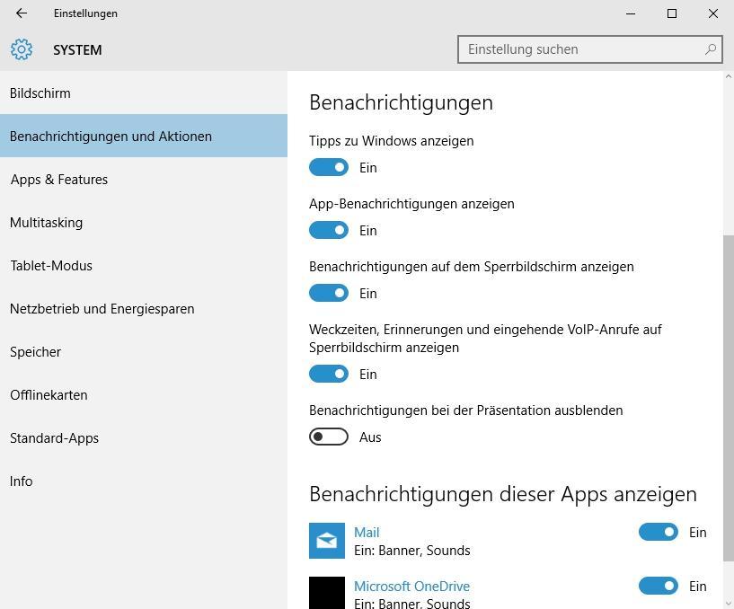 Windows 10: Benachrichtigungen deaktivieren - so klappt es