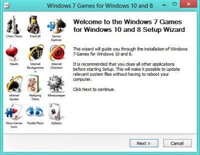 So installieren Sie Windows 7 - Spiele auf Windows 10