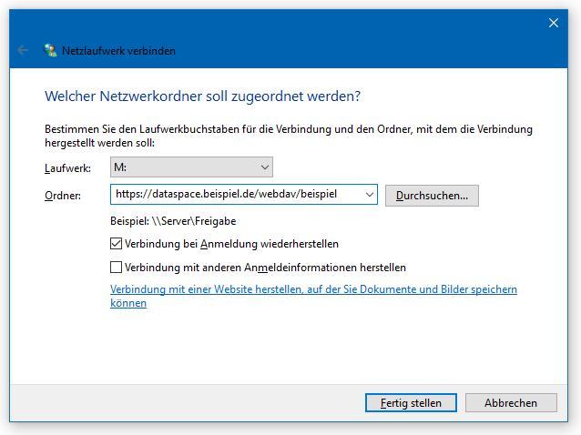 So richten Sie WebDAV unter Windows 10 ein