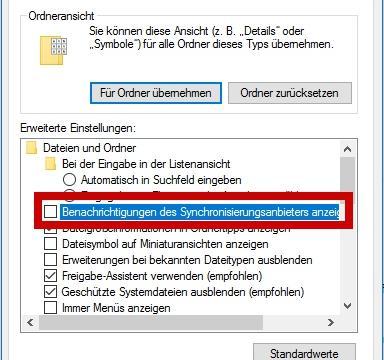 So entfernen Sie die OneDrive – Werbung bei Windows 10 aus dem Explorer