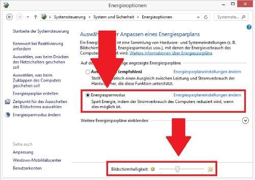 Bildschirmhelligkeit in Windows 10 kann nicht eingestellt werden - Lösungen