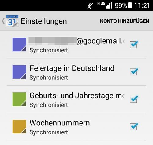 Windows 10 Kalender mit Android synchronisieren