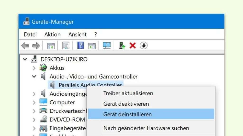 Aktualisieren von Treibern in Windows 10 - so gehts