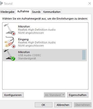 Mikrofon unter Windows 10 einrichten und testen - so funktioniert es