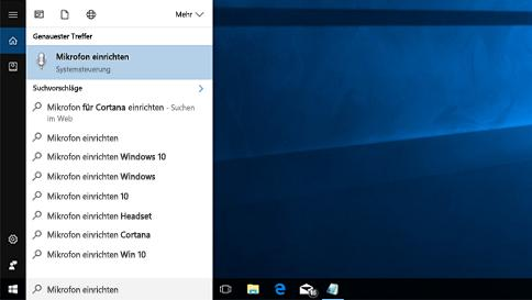 Cortana hört mich nicht in Windows 10 - was tun?