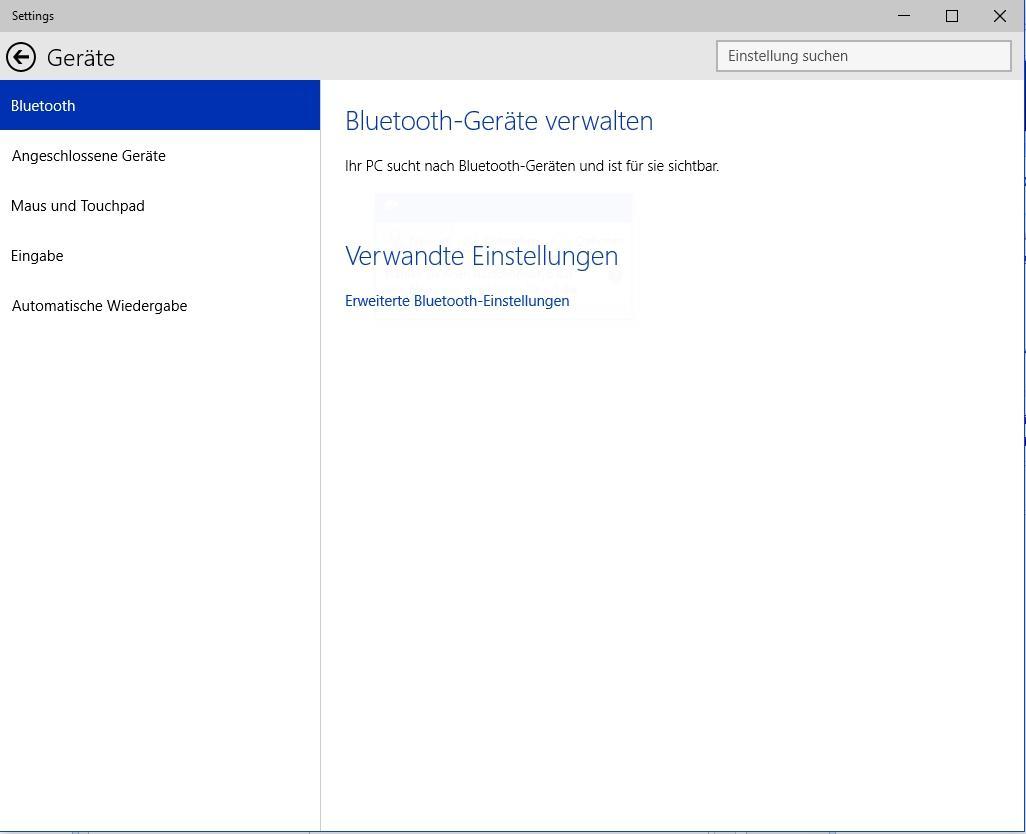 Bluetooth aktivieren in Windows 10 - so funktioniert es