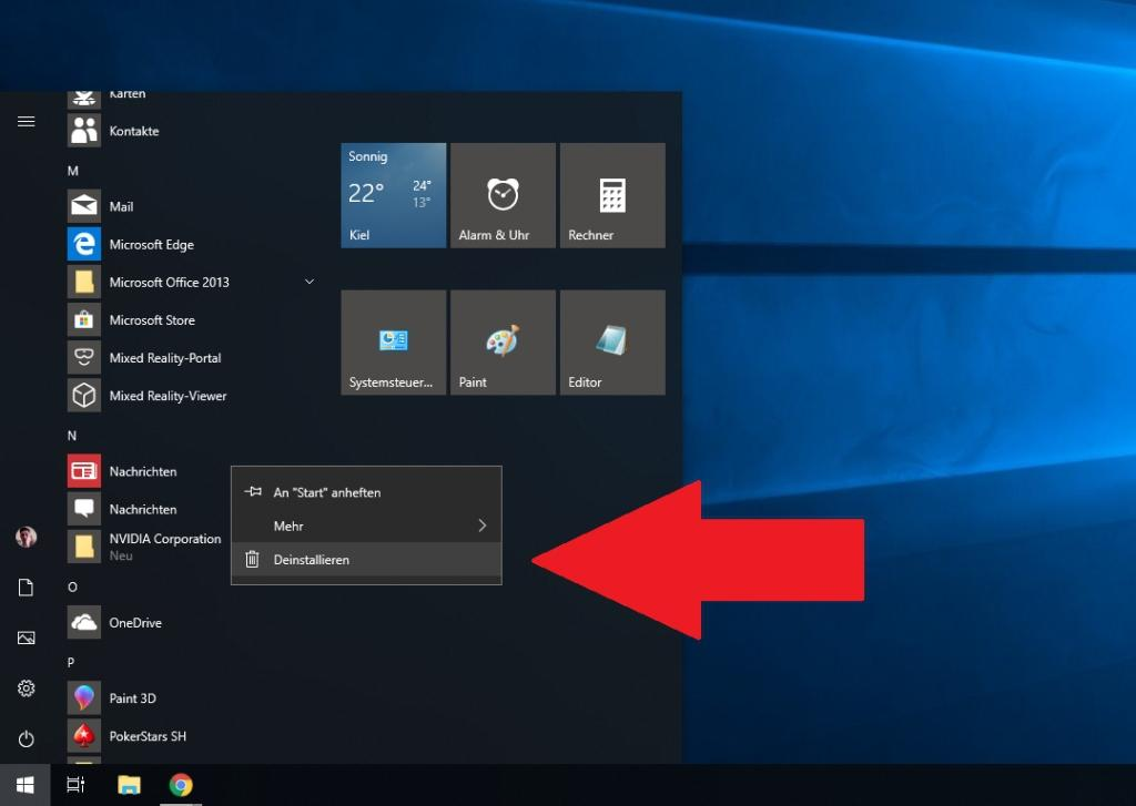 Windows 10 Apps deinstallieren - so funktioniert es