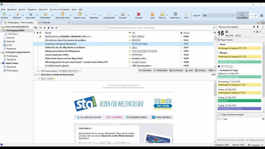 Windows 10: Die 5 besten E-Mail Programme im Überblick