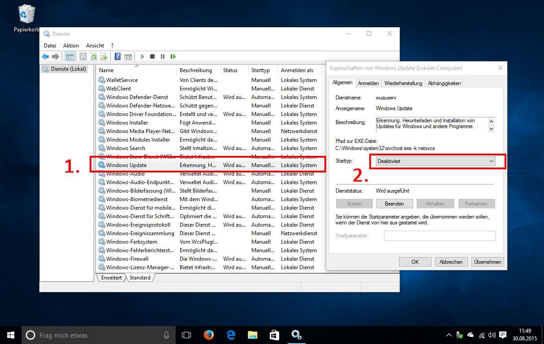 Automatische Updates in Windows 10 deaktivieren - so gehts