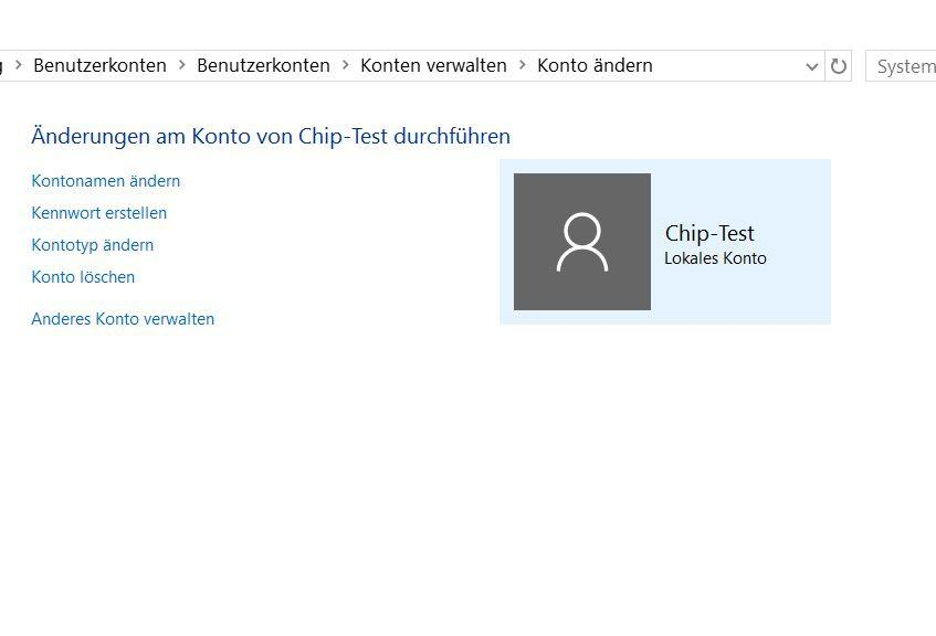 Benutzerkonto in Windows 10 löschen - so funktioniert es