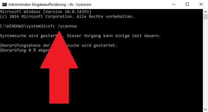 Fehler 0x8000ffff (E_UNEXPECTED) beheben - so gehts