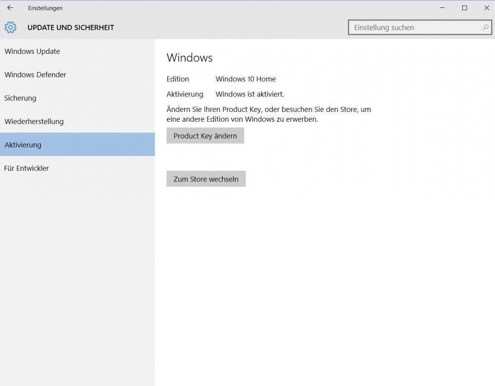 Fehler 0xC004F034 Windows 10 kann nicht aktiviert werden