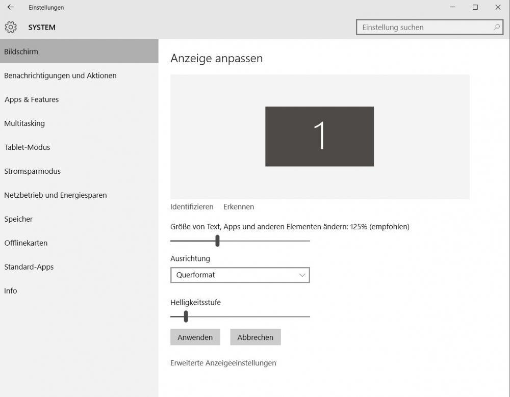 Textgröße ändern in Windows 10 - so gehts