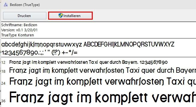 Schriftarten unter Windows 10 installieren - so funktioniert es