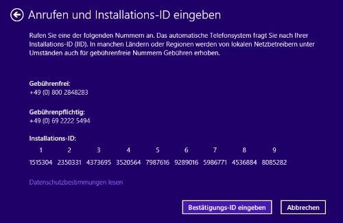 0xC004C008 Fehler bei Windows Aktivierung beheben