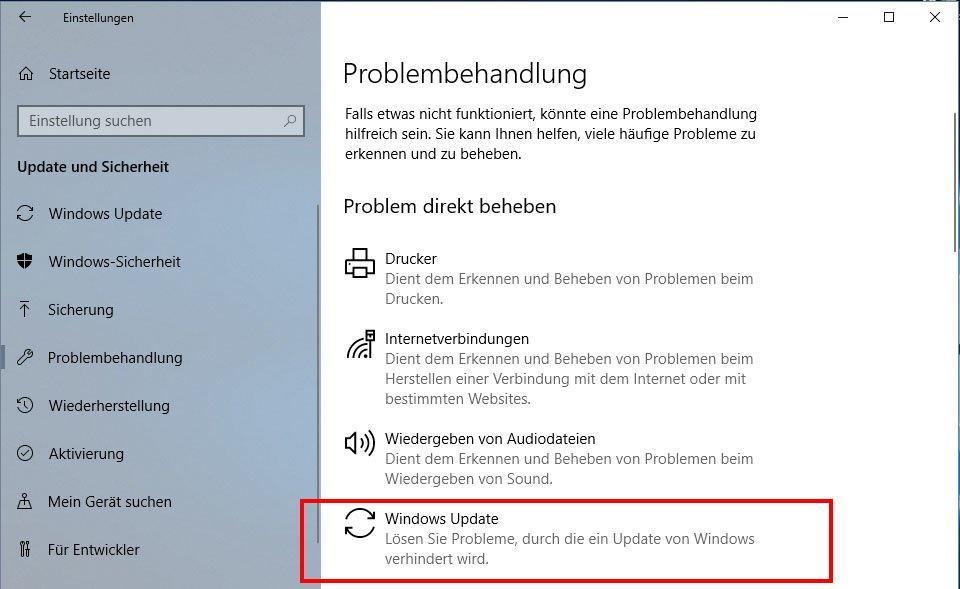 Windows-Updates Reparieren und Zurücksetzen - so gehts