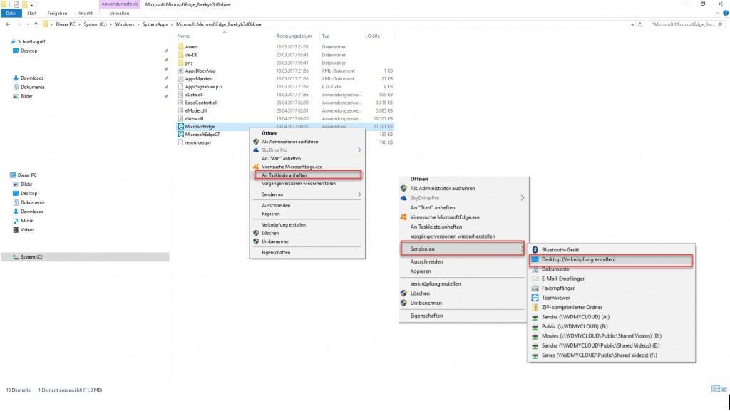 Microsoft Edge ist verschwunden - was tun?