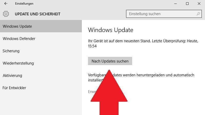 Windows 10 hängt beim Update - was tun?