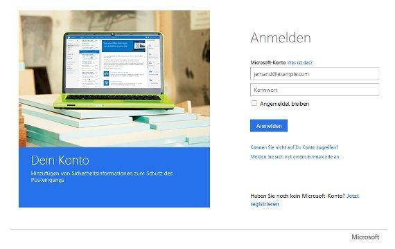 Passwort des Microsoft-Kontos vergessen - das hilft
