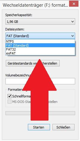 FAT32, exFAT oder lieber NTFS - Welches Dateisystem bei USB-Sticks?