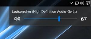 Alte Lautstärkeregelung in Windows 10 wiederherstellen