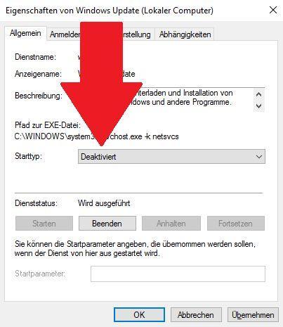 Windows 10: Automatische Updates ausschalten