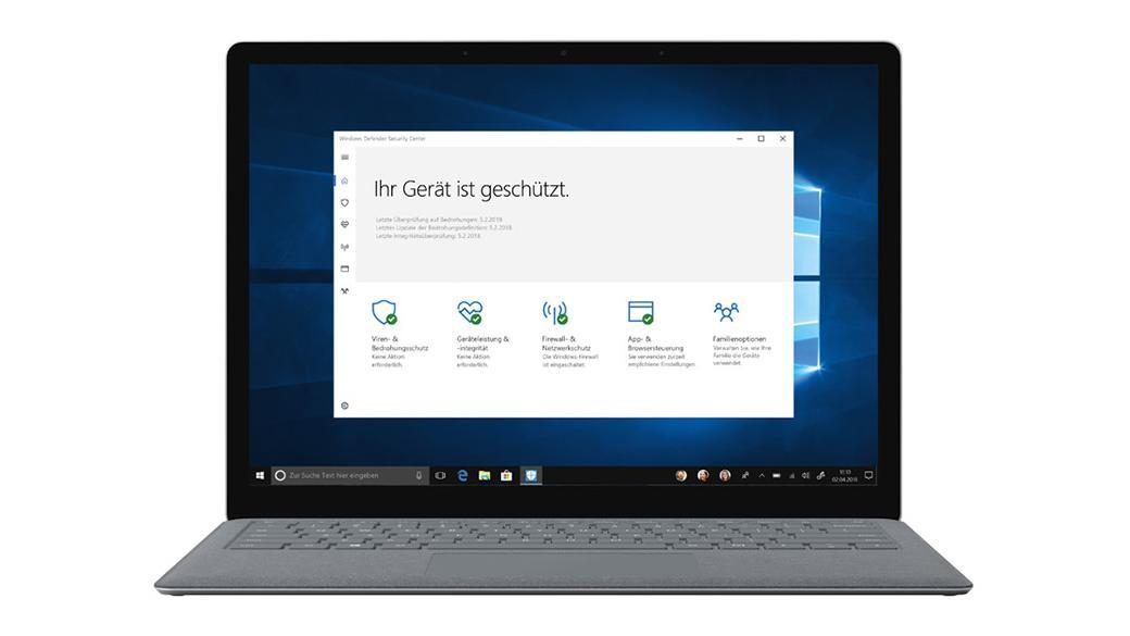 Edge Browser unter Windows 10 sicher machen