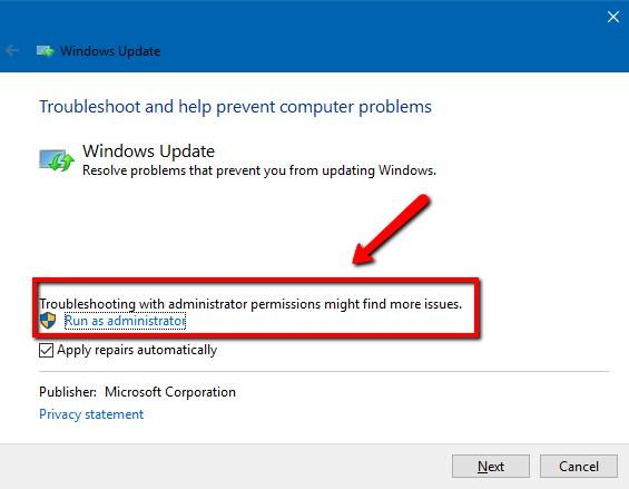 Windows 10 Probleme mit Windows Update beheben
