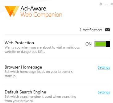 Adware Web Companion - was ist das?