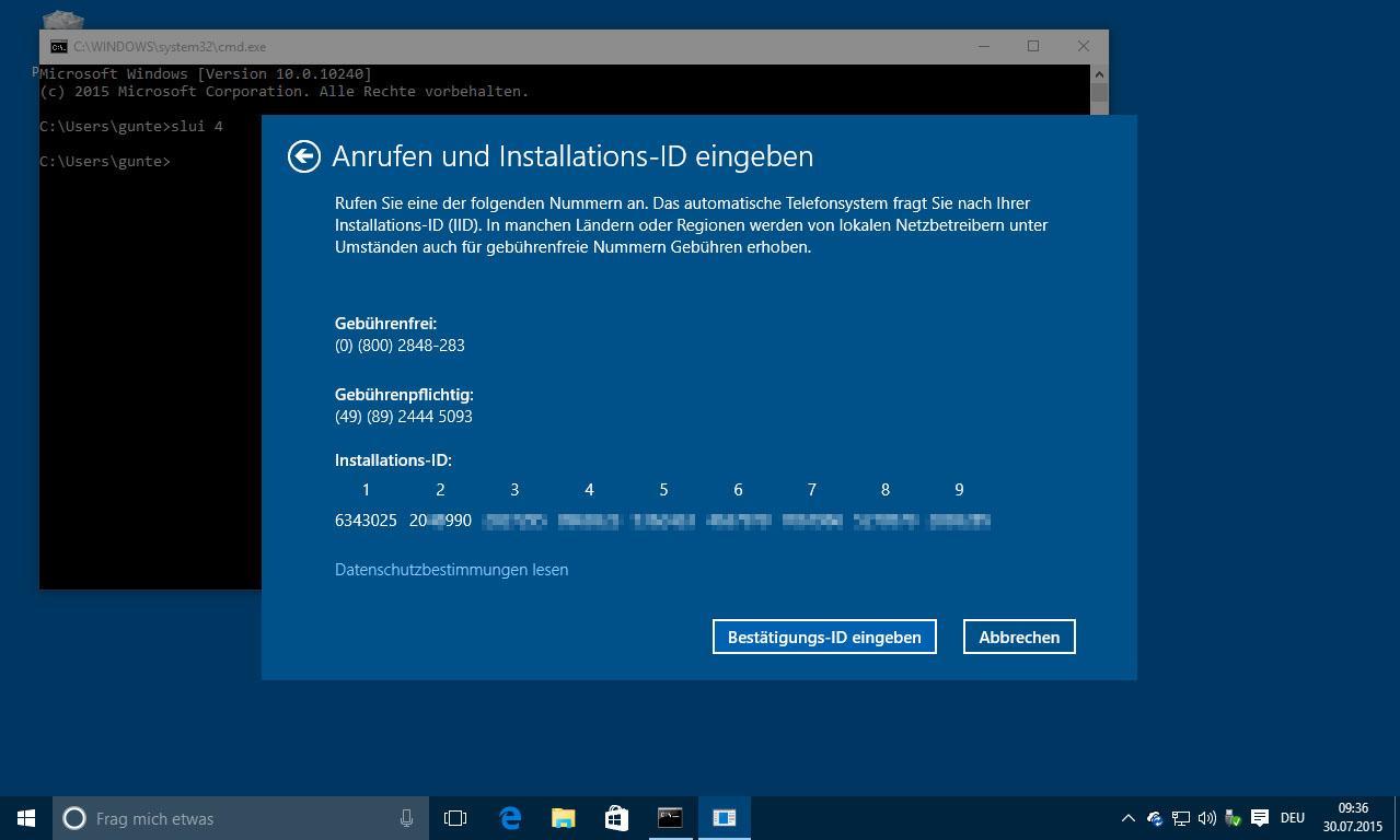 Windows 10 Aktivierungsfehler: das bedeuten die Codes