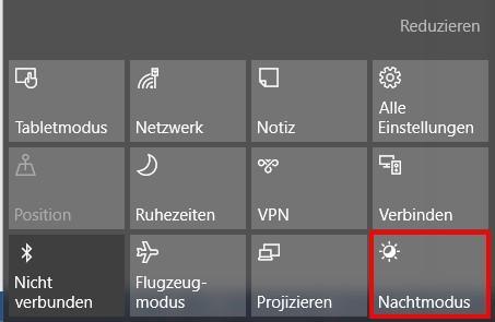 So Aktivieren und deaktivieren Sie den Nachtmodus unter Windows 10