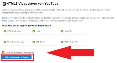 So YouTube-Videos in Mozilla Firefox in HTML5 abspielen