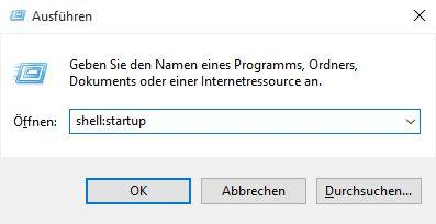 Windows 10: Programme in Autostart hinzufügen